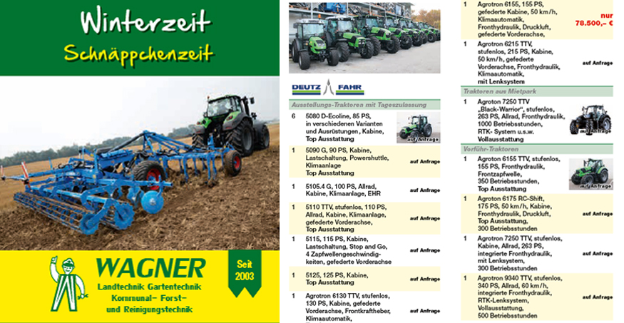 Flyer Winteraktion